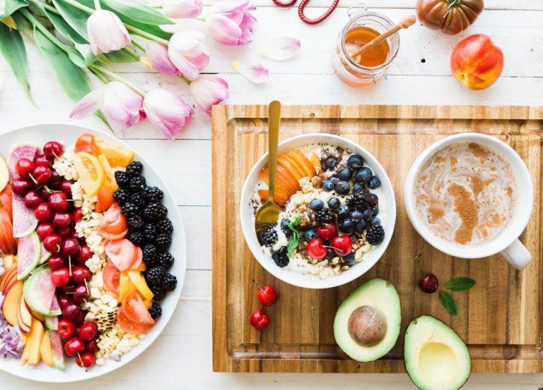 Zdrowa żywność sprzedawana w Internecie