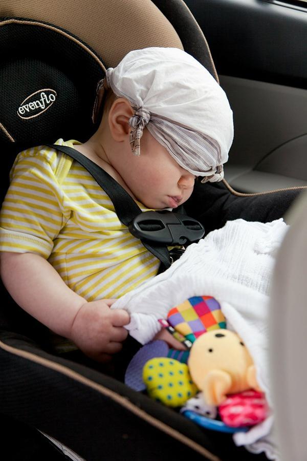 Zapewnij swojemu dziecku wygodę podczas podróżowania